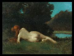 Jean Jaques Henner 1829 Bernweiler/Elsaß - 1905 Paris