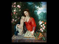 Detailabbildung: Jan Brueghel d.J. 1601 Antwerpen - 1778 und Gerard Seghers 1591 Antwerpen - 1651