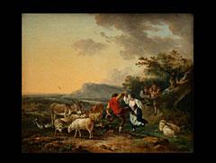 Philippe Jacques de Loutherbourg, der Jüngere  1740 Straßburg - 1812 Chiswick/London