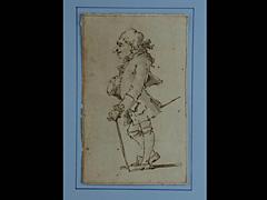 Pier Leone Ghezzi 1674 Rom - 1755 zugeschr.