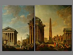 Gian Paolo Panini (Pannini), 1691 Piacenza - 1765 Rom (siehe folgende Seiten)