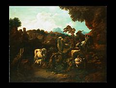 Philipp Roos, genannt Rosa da Tivoli, 1657 Frankfurt am Main - 1706 Rom, zug.
