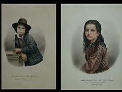 Seltene Sammlung italienischer Portraits aus Venedig und Rom