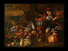 Niccola Murin Recco Neapel 17./18.Jhdt., zug. Sohn des Giuseppe Recco, 1634 - 1695 Neapel