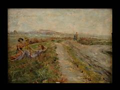 E. Vasarri Italienischer Maler des 19./20. Jhdt.