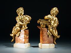 Paar Veroneser Bronzen