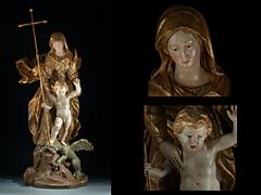 Venezianischer Bildschnitzer des 18.Jhdts.