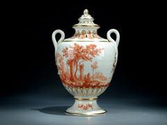 Nymphenburger Potpurri-Vase