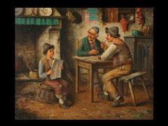Carl Ostersetzer, geb.1865 Brody/Galizien - 1914 Wien