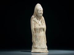 Chinesische Sui-Keramik-Figur