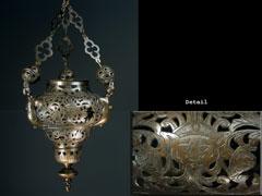 Bronze-Ewiglichtampel