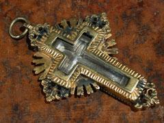 Reliquien-Hängekreuz