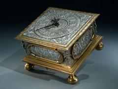 Augsburger Renaissance-Tischuhr von Jacob Widemann