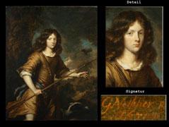 Caspar Netscher  1639 Heidelberg - 1684 Haag.