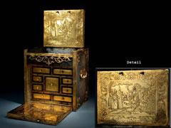 Bedeutendes, museales Kabinettkästchen aus der Werkstatt des Nürnberger Goldschmiedes Wenzel-Jamnitzer um 1600