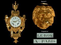 Französische Cartell-Uhr im Louis XVI-Stil