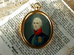 Miniaturportrait Franz II
