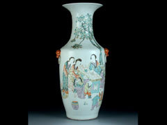Detail images: Chinesische Bodenvase