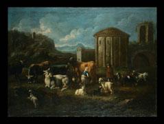 Johann Melchior Roos,  1659 - 1731