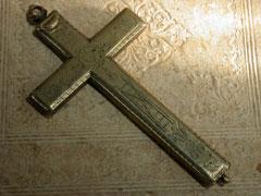 Messingkreuz um 1700