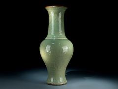 Südchinesische Seladon-Vase