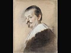 Franz von Lenbach 1836 Schrobenhausen - 1904 München (Rechtes Portrait)