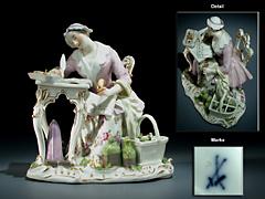 Meissner Porzellanfigur
