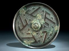 Tang T-Spiegel in Bronze