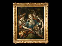 Bartholomäus Spranger  1546 Antwerpen - 1611 Prag - Art des