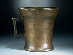 Spätgotischer Bronze-Mörser