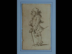Pier Leone Ghezzi  1674 Rom - 1755, zugeschr.