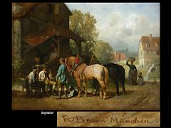 Reinhold Braun  1821 Altensteig - 1884 München