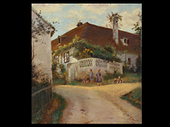A. Overbeck  Maler des 20. Jhdt.
