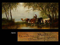 Christian Mali 1832 Broekhuizen - 1906 München