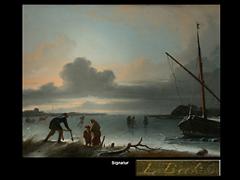 Ludolf Backhuysen  1631 Emden - 1708 Amsterdam