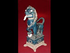 Chinesischer Keramik-Fo-Hund