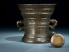 Bronzemörser aus Deventer von 1631