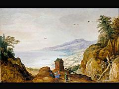 Joos de Momper d. J.  1564 Antwerpen - 1635 und  Jan Brueghel d. J. 1601 Antwerpen - 1678