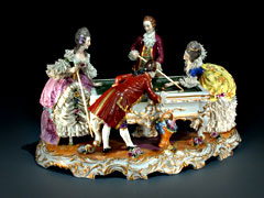 Porzellanfigurengruppe: