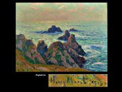Henry Moret, 1856 Cherbourg - 1913 Paris