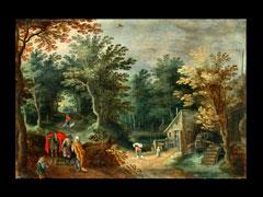 Sebastian Vrancx  1573 Antwerpen - 1647 - Nachfolge des