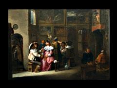 Joos van Craesbeeck,  flämischer Maler, geb. um 1605  Neerlinter/Brabant - 1654/61 Brüssel