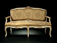 Kleine Zweisitzige Polsterbank Hampel Fine Art Auctions
