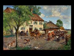 Paul Burmeister  1847 Anklam - 1923 München