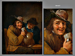 Detail images: David Teniers, zugeschr.