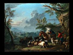 Francesco Casanova zug.  1727 London - 1802 Brühl bei Wien