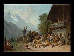Heinrich Bürkel 1802 Pirmasens - 1869 München