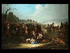 Johann E. Ridinger  1698 Ulm - 1767 Augsburg.  Schüler des Georg P. Rugendas
