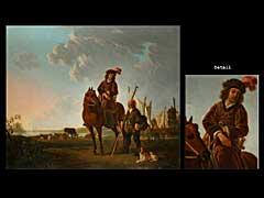 Jacob van Strej  1756 Dortrecht-1815  Bekannt als Nachschöpfer von Bildern des Albert Cuyp