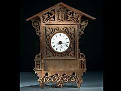 Schwarzwälder Bahnhäusle-Uhr